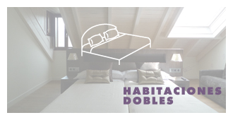 habitaciones_dobles Albergue Guiana