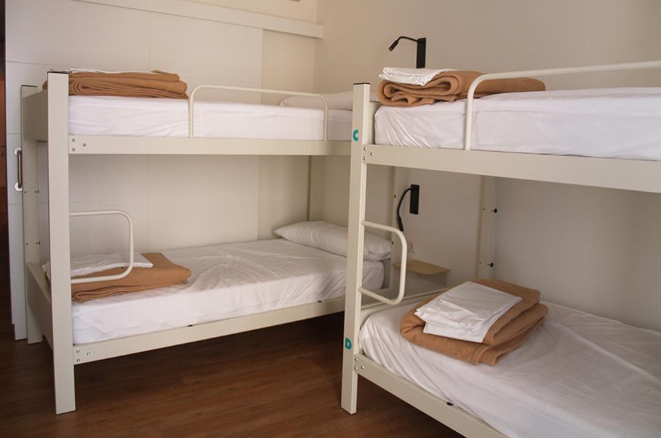 habitacion compartida 03 albergue guiana